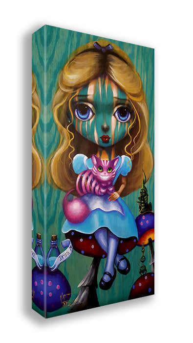 Big Eyes Alice by Kat Tatz