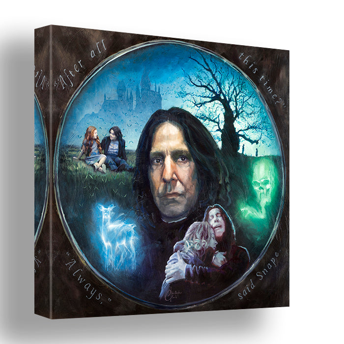 Always Said Snape by Christopher Clark