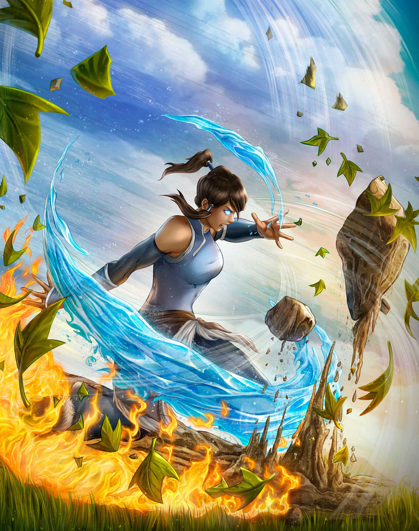 Avatar - Korra by Dominic Glover