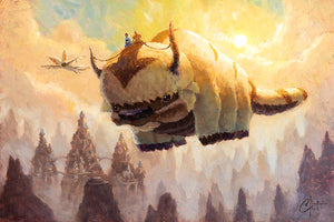 """Appa, Yip Yip! by Christopher Clark PAPER & CANVAS AVAILABLE"