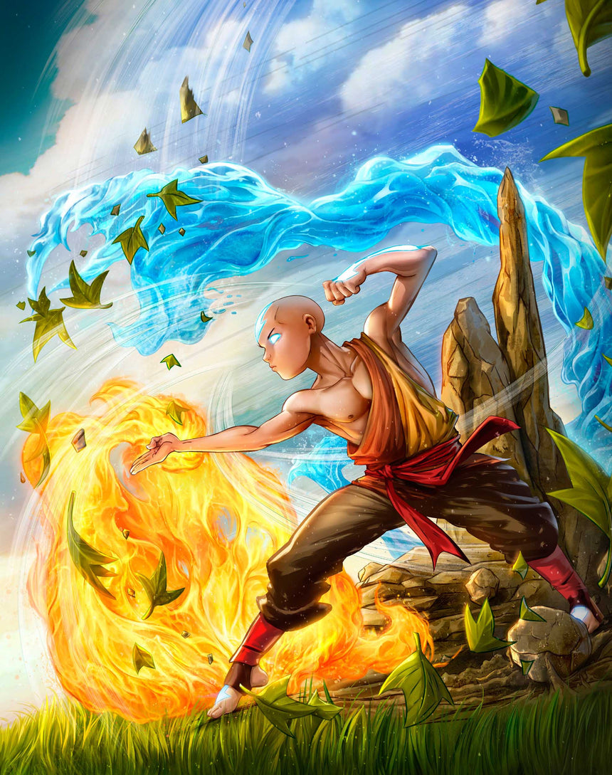 Avatar - Aang by Dominic Glover