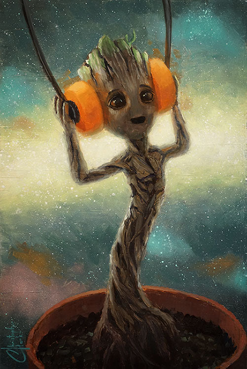 Baby Groot by Christopher Clark