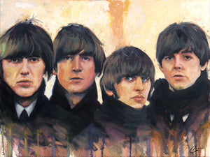 """Beatles for Sale"" by Christopher Clark PAPER & CANVAS AVAILABLE"