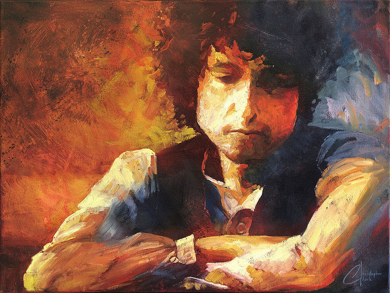 Bob Dylan by Christopher Clark