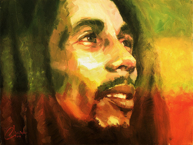 Bob Marley by Christopher Clark