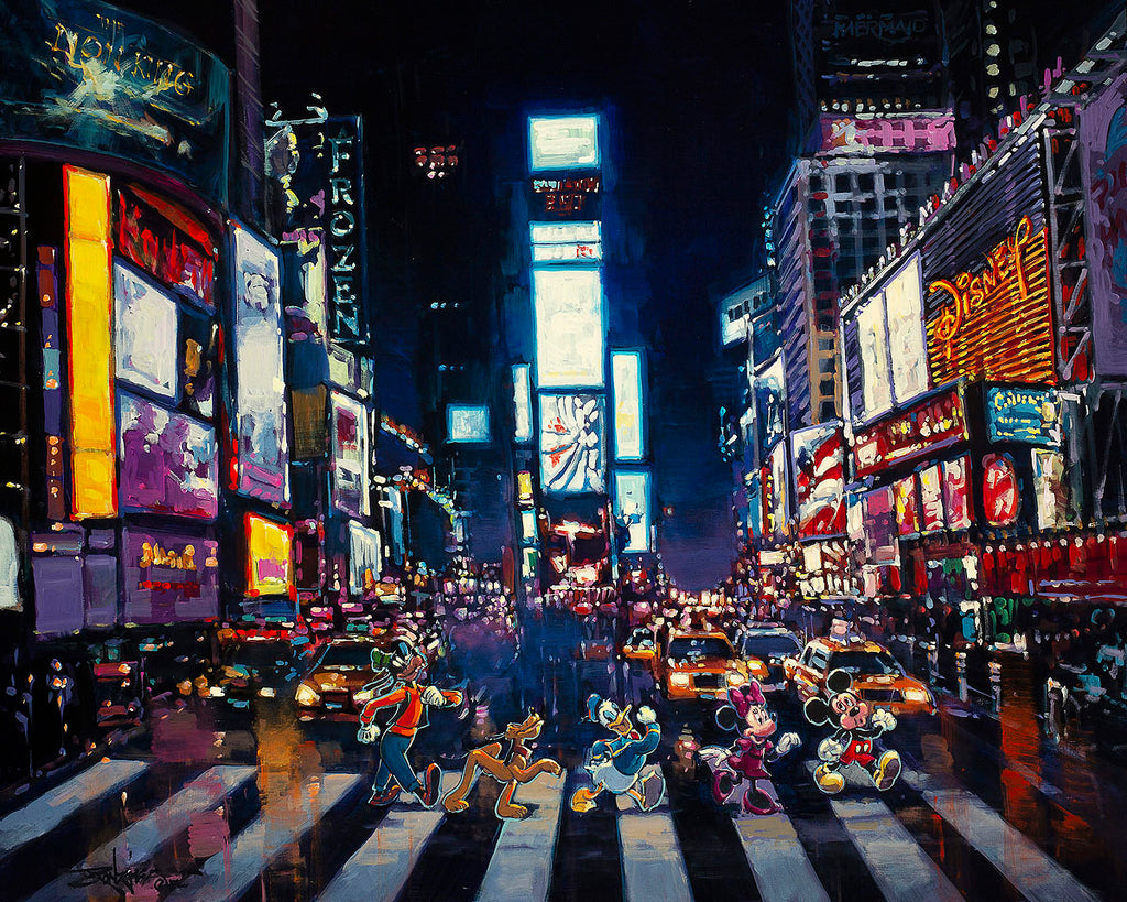 """Bright Lights of Manhattan"" by Rodel Gonzalez"