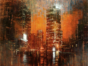 City Lights III by Christopher Clark