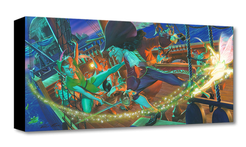"""Clash for Neverland"" by Alex Ross"