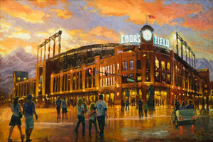 """Coors Field"" by Christopher Clark"