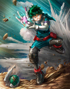 """DEKU"" by Dominic Glover - PAPER & CANVAS AVAILABLE"
