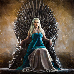"""Daenerys True Queen"" by Christopher Clark"