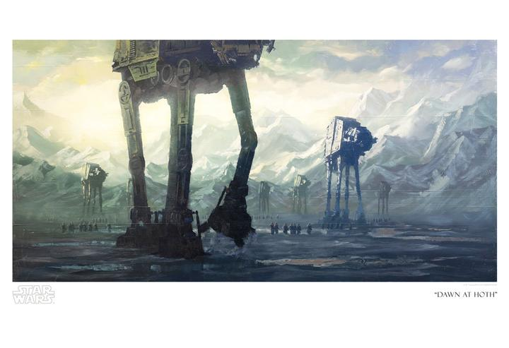 Dawn at Hoth by Christopher Clark
