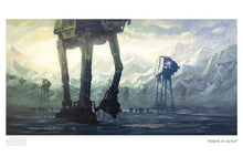 "Load image into Gallery viewer, ""Dawn at Hoth"" by Christopher Clark - PAPER & CANVAS AVAILABLE"