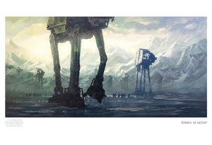 """Dawn at Hoth"" by Christopher Clark - PAPER & CANVAS AVAILABLE"