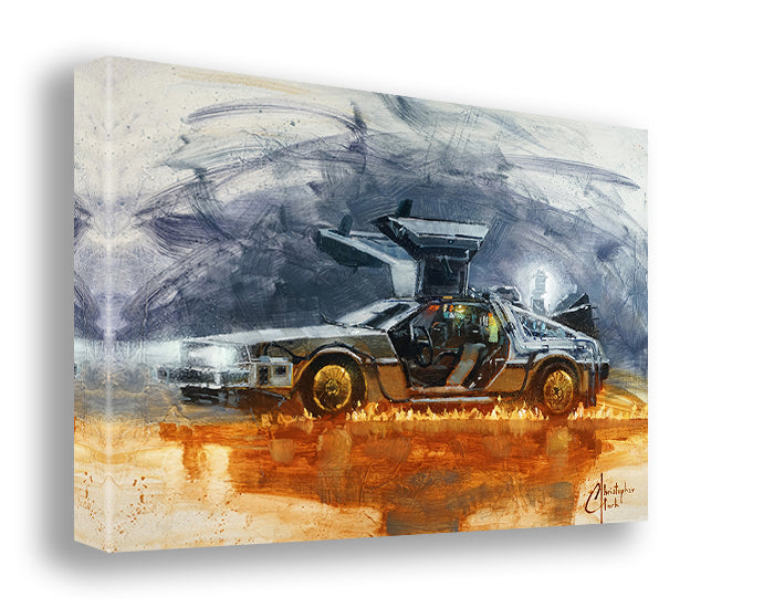 DeLorean by Christopher Clark
