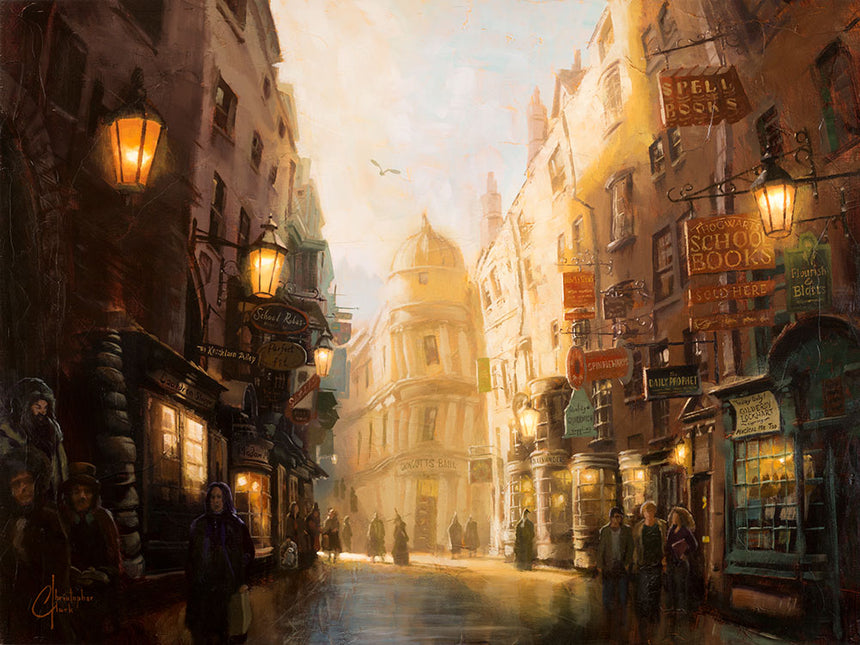 Diagon Alley by Christopher Clark
