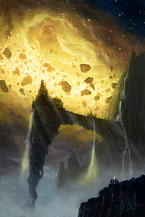 Fortress of the Shattered Void by Christopher Clark