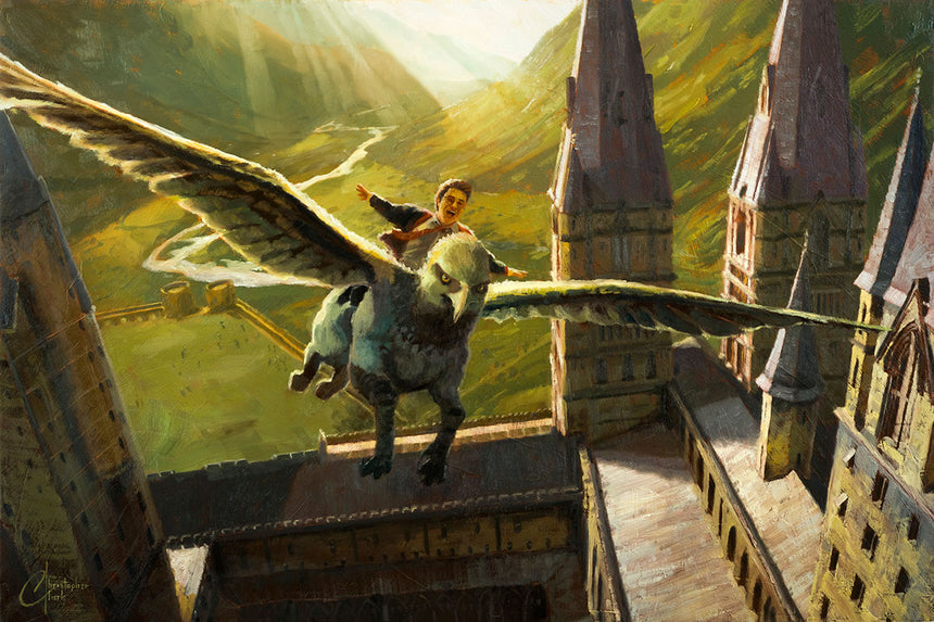 Freedom Buckbeak by Christopher Clark