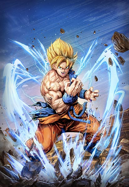 Goku by Dominic Glover