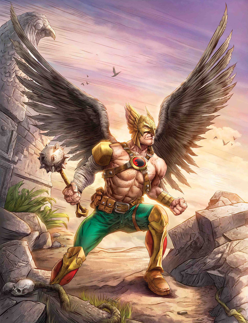 Hawkman by Dominic Glover