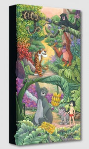 """home in the Jungle"" Canvas 20""x10"" by Michelle St. Laurent"