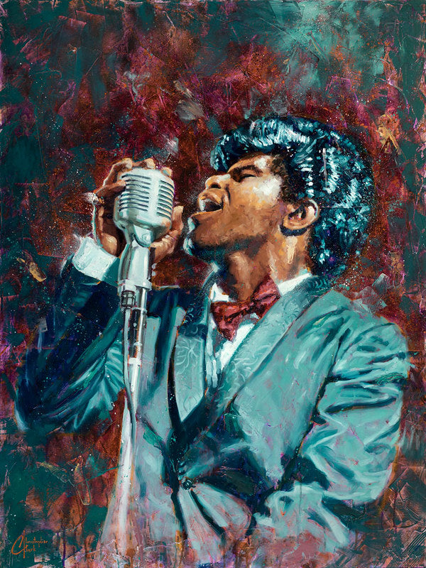 James Brown by Christopher Clark