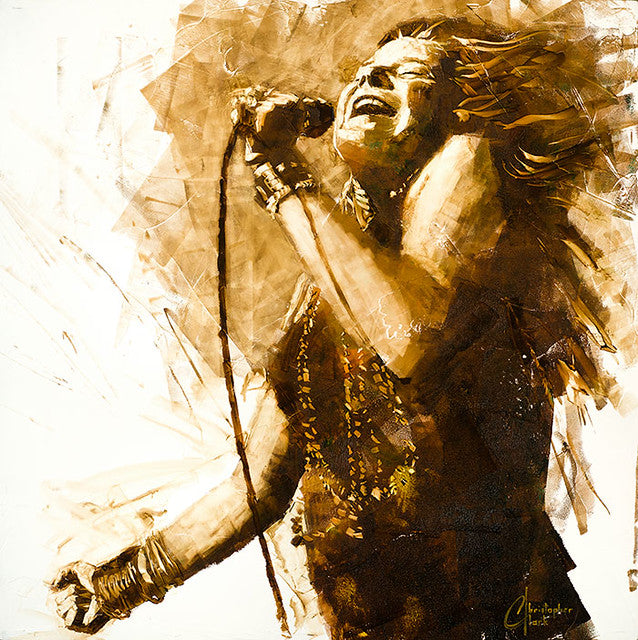 Janis Joplin by Christopher Clark