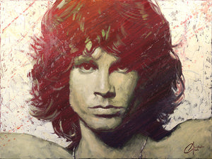 Jim Morrison by Christopher Clark