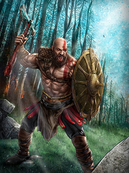 Kratos by Dominic Glover