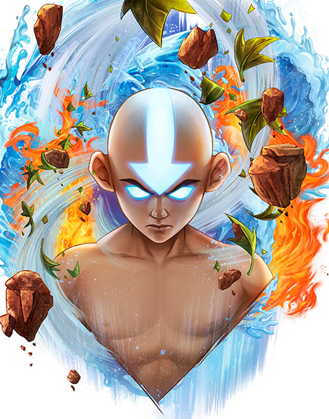 Legacy Avatar State: Aang by Dominic Glover
