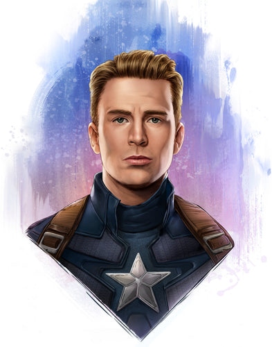 Legacy Captain America by Dominic Glover Paper & Canvas Available