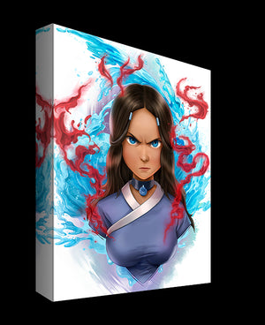 Legacy Blood Bender Katara by Dominic Glover