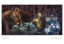 "Load image into Gallery viewer, ""Let the Wookie Win"" by Christopher Clark"