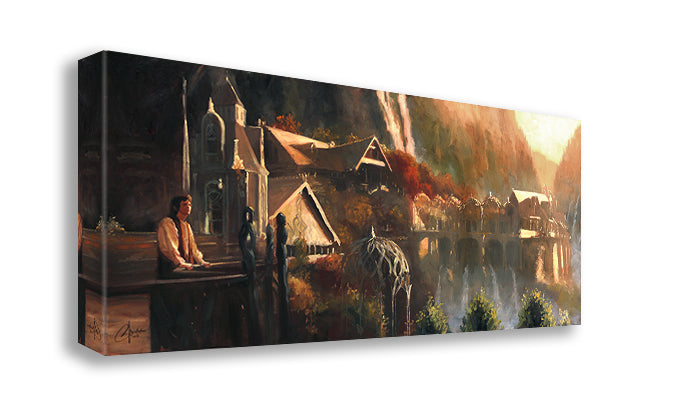 Frodo at Rivendell by Christopher Clark