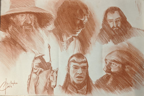 SKETCH: Lord of The Rings/The Hobbit 11