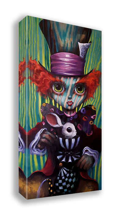 Big Eyes Mad Hatter by Kat Tatz