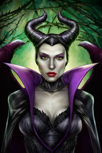 """Maleficent"" by Dominic Glover - PAPER & CANVAS AVAILABLE"