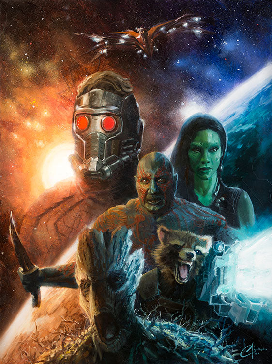 Guardians of the Galaxy by Christopher Clark