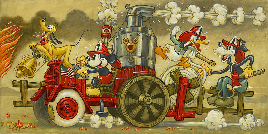 """Mickey's Fire Brigade"" by Tim Rogerson"