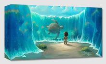 "Load image into Gallery viewer, ""Moana's New Friend"" by Rob Kaz"
