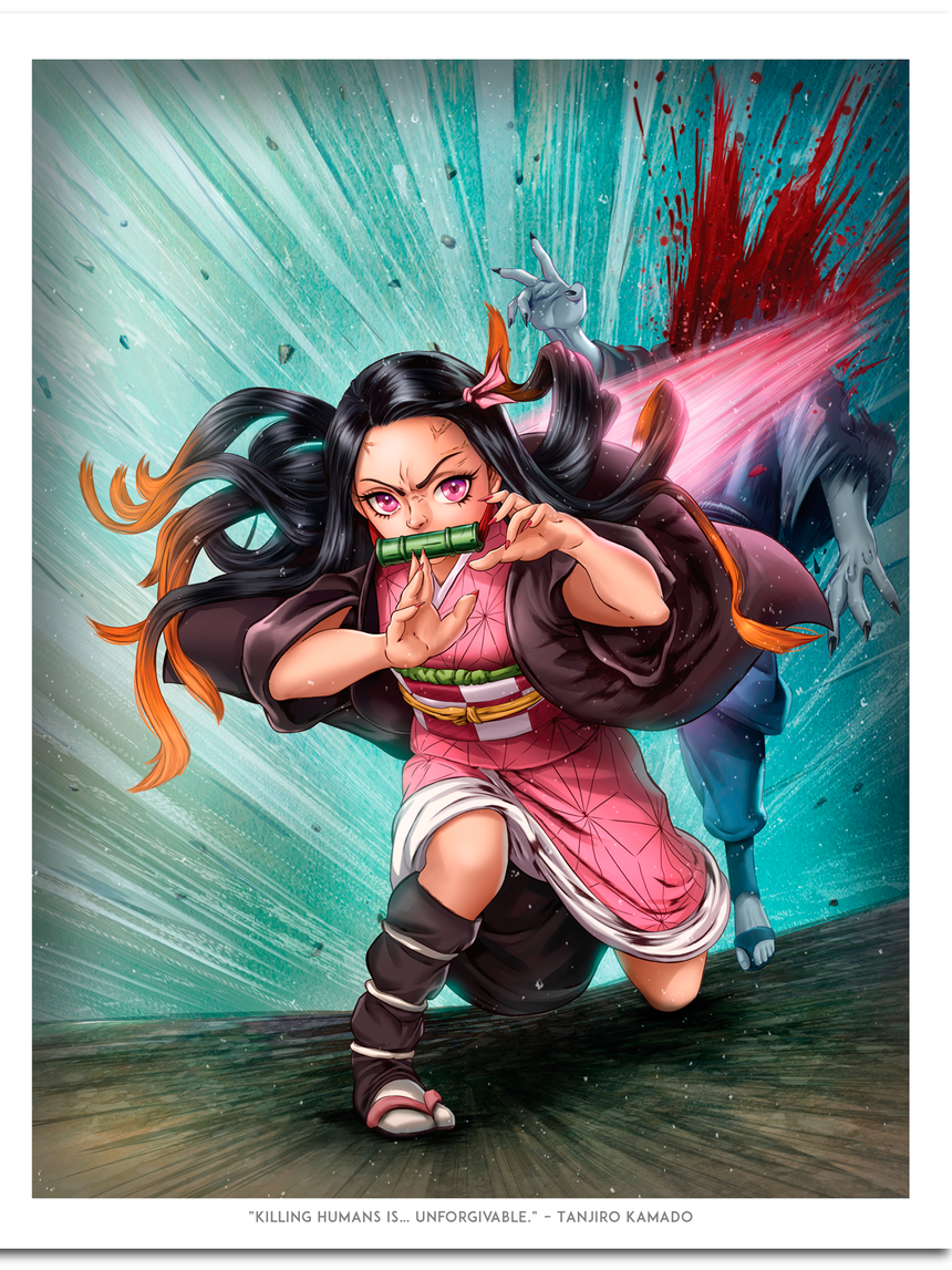 Nezuko by Dominic Glover