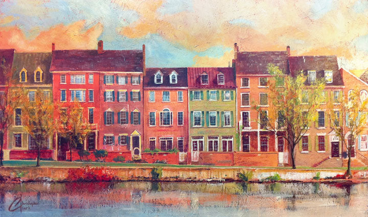 Old Town Alexandria III by Christopher Clark