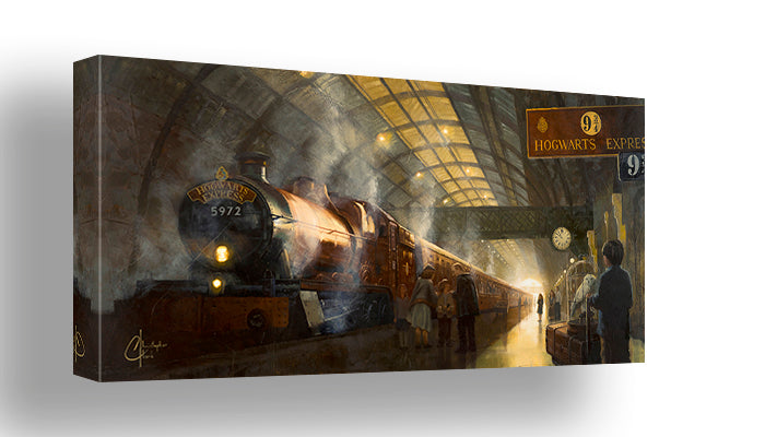 Platform 9 3/4's by Christopher Clark