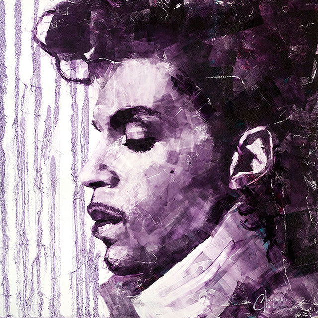 Prince - Purple Rain by Christopher Clark