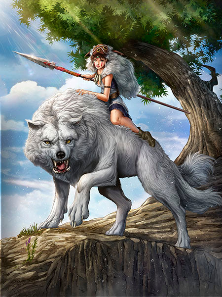 Princess Mononoke by Dominic Glover
