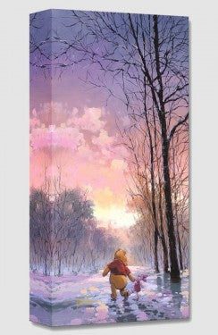 """Snowy Path"" by Rodel Gonzalez"