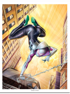 """Spider Gwen"" Action by Dominic Glover"