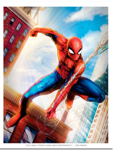 """Spiderman"" Action by Dominic Glover"