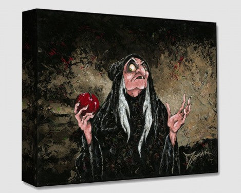 Magic Wishing Apple Canvas by Trevor Mezak