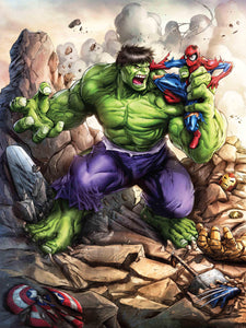 """The Hulk"" by Dominic Glover - PAPER & CANVAS AVAILABLE"